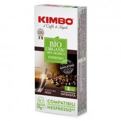 Kimbo Bio Organic Kaffekapsler 10 stk