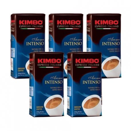Kimbo Aroma Intenso 5x250g - Malet kaffe