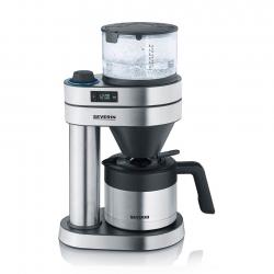 Severin Caprice Kaffemaskine Stål/Sort