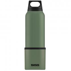 SIGG Hot & Cold Termoflaske m. kop 0,75 L Grøn