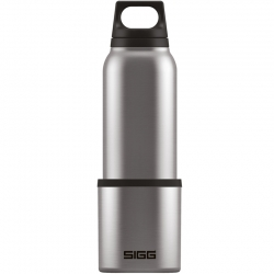 SIGG Hot & Cold Termoflaske m. kop 1 L Stål
