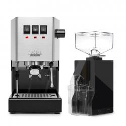 Gaggia Classic Pro Espressomaskine Inkl. Eureka Mignon Filtro Kværn