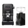 Gaggia Classic Pro Sort Espressomaskine Inkl. Eureka Mignon Filtro Kværn
