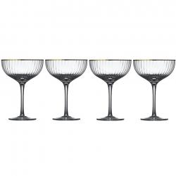 Lyngby Palermo Gold Cocktailglas 31,5 cl 4 stk