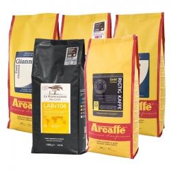 Arcaffe Deluxe Kaffepakke Hele kaffebønner