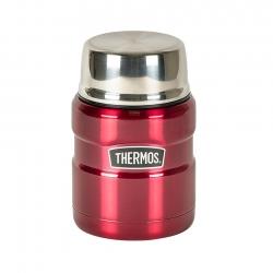 Thermos Madtermoflaske 0,47 L Mørkerød