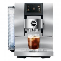 Jura Z10 (EA) Aluminium White Espressomaskine Inkl. Plejepakke & Mælkebeholder