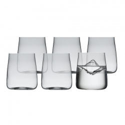 Lyngby Zero Vandglas 42 cl 6 stk
