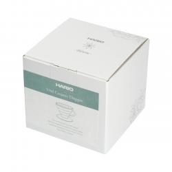 Hario V60-02 Bloom Keramik Dripper Hvid Inkl. 40 Papirsfiltre