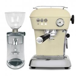 Ascaso Dream Zero Model 2020 Sweet Cream Espressomaskine Inkl. i-Mini I2 Kværn