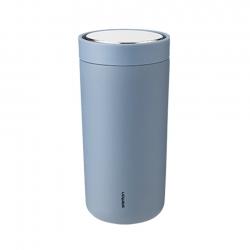 Stelton To Go Click Steel 0,4 L Dusty Blue