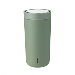 Stelton To Go Click Steel 0,4 L Soft Army