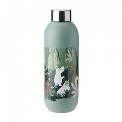 Stelton Keep Cool Vandflaske 0,75 L Dusty Green