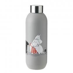 Stelton Keep Cool Vandflaske 0,75 L Light Grey