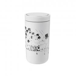 Stelton To Go Click 0,2 L Moomin Soft White