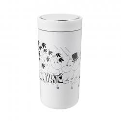 Stelton To Go Click 0,4 L Moomin Soft White