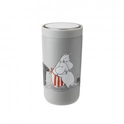 Stelton To Go Click 0,2 L Moomin Light Grey