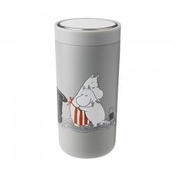 Stelton To Go Click 0,4 L Moomin Light Grey
