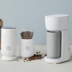 RIG-TIG Foodie Elektrisk Kaffemølle Hvid