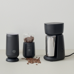 RIG-TIG Foodie Elektrisk Kaffemølle Sort