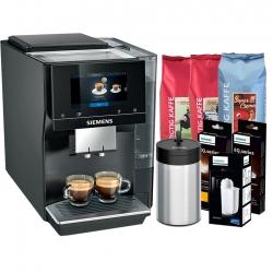 Siemens TP707R06 EQ700 Classic Espressomaskine Inkl. 12 Kg Kaffe, Mælkebeholder & Pleje