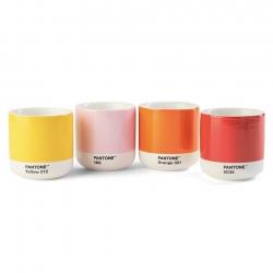 Pantone Latte Termokrus 22 cl 4 Stk Lys Sæt
