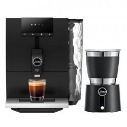 Jura ENA 4 (EA) Full Metropolitan Black Espressomaskine Inkl. Mælkeskummer Hot&Cold