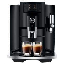 Jura E8 (EB) 2020 PianoBlack Espressomaskine Inkl. Kopvarmer, Cappuccinokopper & 2kg Kaffe
