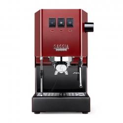 Gaggia Classic Pro Rød Espressomaskine Inkl. Kværn, Kaffe & Baristaudstyr