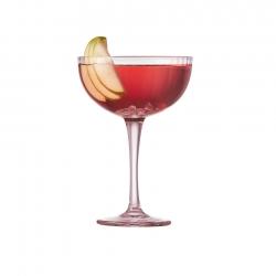 Lyngby Palermo Cocktailglas 31,5 cl 4 stk Pink