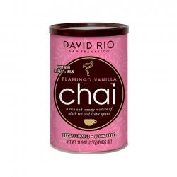 David Rio Chai Flamingo Vanilla Decaf & Sukkerfri 337g