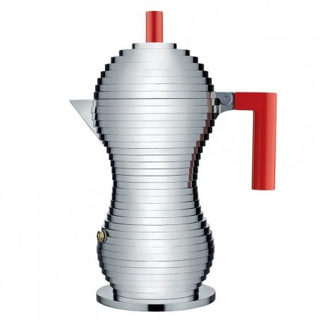 Alessi Pulcina Espressokande Rød 6 Kop.