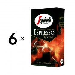 6x250g Segafredo Espresso Casa - Formalet