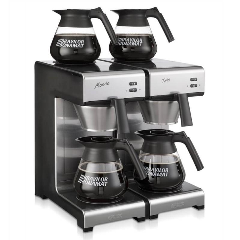 bonamat mondo twin kaffemaskine. Black Bedroom Furniture Sets. Home Design Ideas