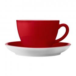 Cappuccinokopper 6 stk 0,28L Rød