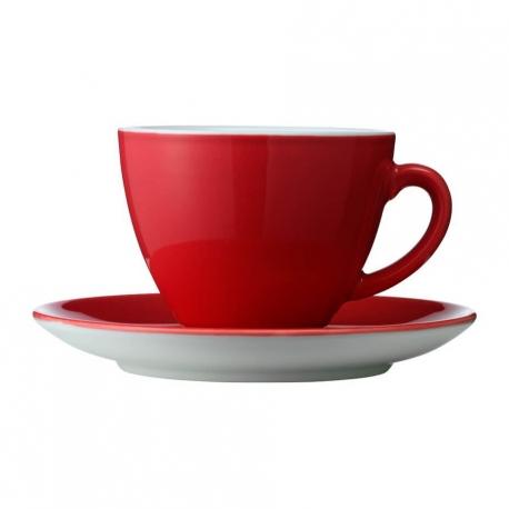 Kaffekopper 6 stk 0,15L Rød