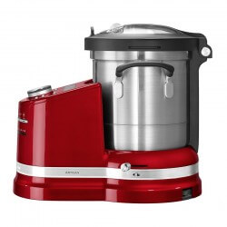 KitchenAid Artisan Cookprocessor Rød Metallic