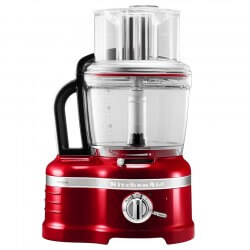 KitchenAid Artisan Foodprocessor 4L Rød Metallic