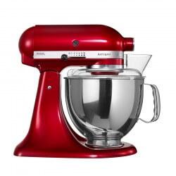 KitchenAid Artisan Standmixer 4,8L Rød Metallic