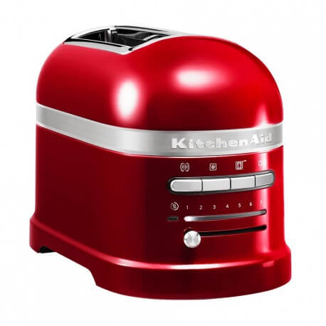 KitchenAid Artisan Brødrister Rød Metallic