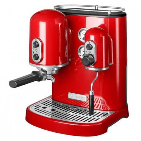 KitchenAid Artisan Espressomaskine Rød