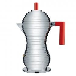 Alessi Pulcina Induktion Espressokande Rød 6 Kop.