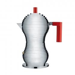 Alessi Pulcina Induktion Espressokande Rød 3 Kop.