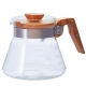 Hario V60 Coffee Server 0,6L Oliven