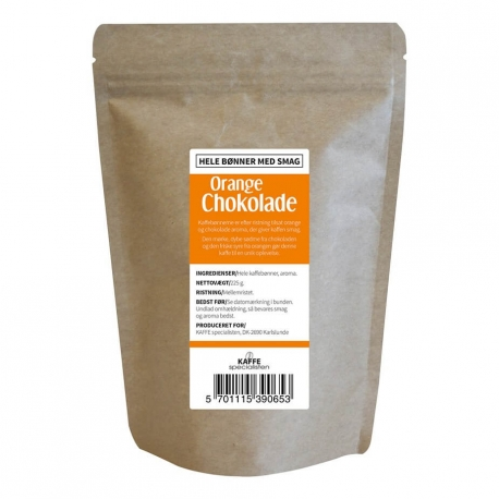 Orange Chokolade Smagskaffe 225g