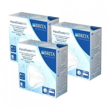 BRITA AquaGusto 100 Kalkfilter 3 stk