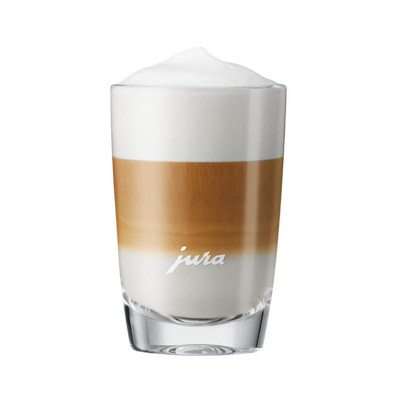 jura latte macchiato glas 220 ml 2stk. Black Bedroom Furniture Sets. Home Design Ideas
