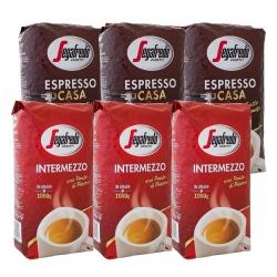Segafredo Casa og Intermezzo 6 kg inkl. rejsekrus