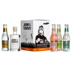 Jim & Tony Gaveæske - Gin & Tonic Kit