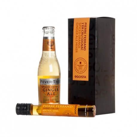 Long Drink Gaveæske - Cognac & Ginger Ale